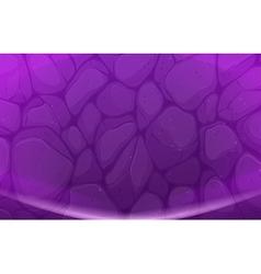 Purple stones vector