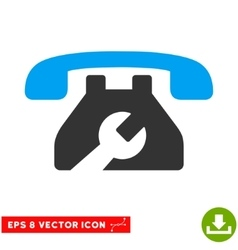 Repair service phone eps icon vector