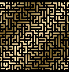 seamless geometric luxury pattern vector image