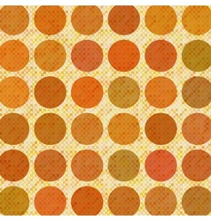 Orange abstract retro background vector image