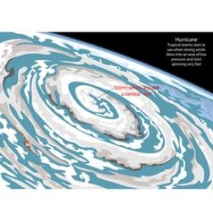 Hurricane vector