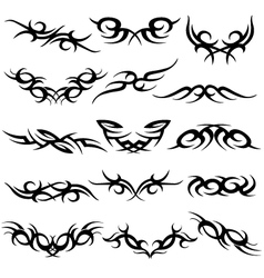 Abstract scroll symbol vector