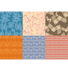 Boho patterns low vector