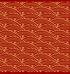 chinese ethnic seamless pattern oriental vintage vector image