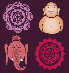 Indian collection vector image