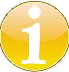 Info icon vector