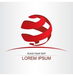 Logo sphera 005 vector image