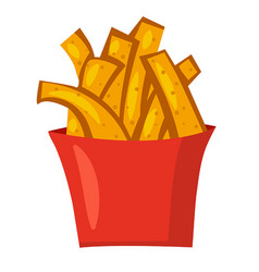 Potato french fries vector