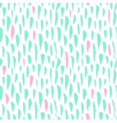 Seamless pattern trendy brush strokes vector