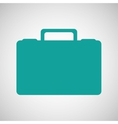 suitcase luggage vector image