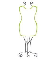 Dummy symbol vector image vector image