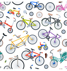 retro bike vintage old fashioned cute vector image