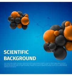 Scientific background vector