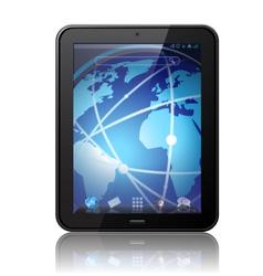 digital tablet vector image vector image
