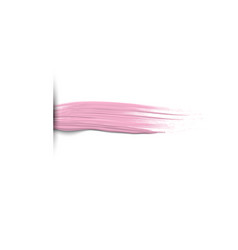 3d horizontal paint brush stroke creative vector image