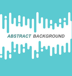 abstract green rounded lines transition vector image