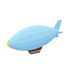 Airship icon cartoon style vector image