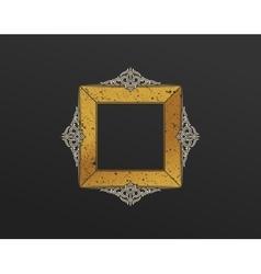 Banner islam ethnic design gold invitation vector
