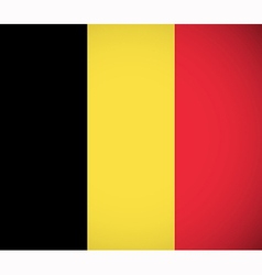 national flag belgium vector image