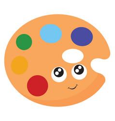 palette or color vector image