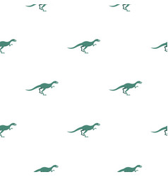 velyciraptor dinosaur pattern seamless vector image