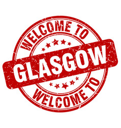 Welcome to glasgow vector