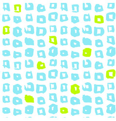 square funky seamless pattern vector image vector image