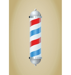 barber pole vector image vector image