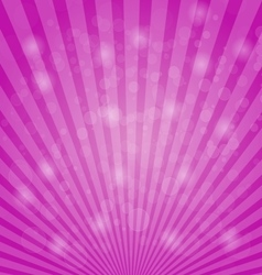 Abstract bokeh on pink background vector image