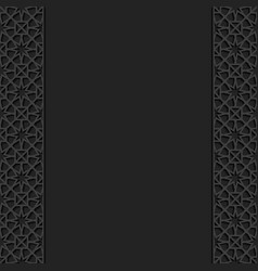 Background with traditional ornament vector