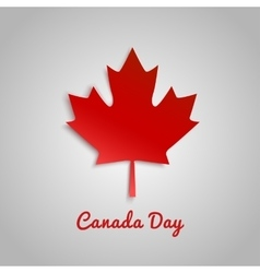 Design a banner for Canada Day 1 st of July vector