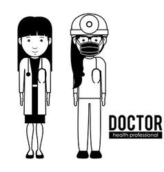 Doctor design vector