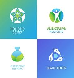 set emblems and logo design templates vector image