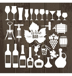 wine vector image
