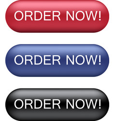 order now buttons vector image