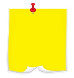 Sticky note2 vector image vector image
