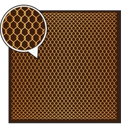 Wire Mesh background vector image