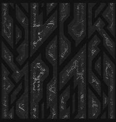 black stone geometric texture vector image