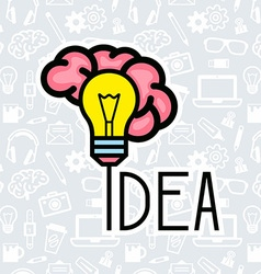 Bright Idea vector