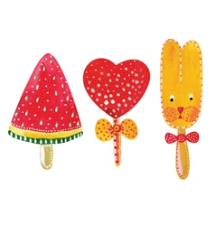 Set of sugar candies vector