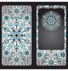 Silvery cover for a mobile phone vector image