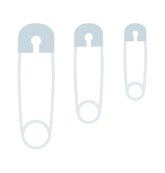 sewing pin vector image