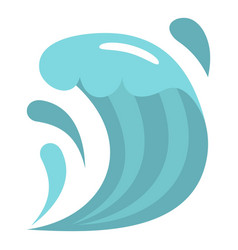 wave icon isolated vector image