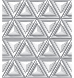 Abstract geometrical background with triangle vector image vector image