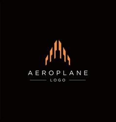 Aeroplane logo vector