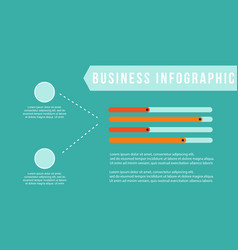 Business infographic step graphic collection vector