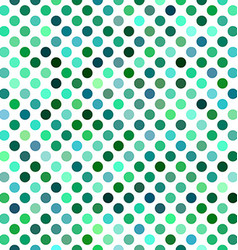 Green abstract polkadot pattern background design vector image