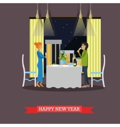 New Years Eve celebration vector image