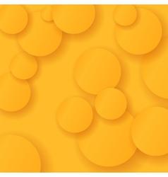 Orange Circles Background vector