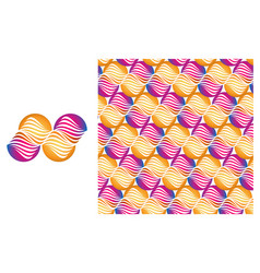 pattern of abstract symbol vector image